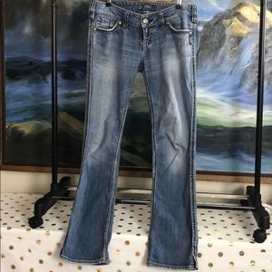 Solver McKenzie light wash jeans size w29/l32